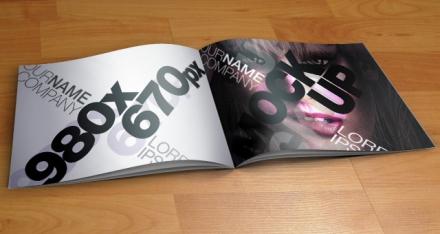 Mockup para catálogo