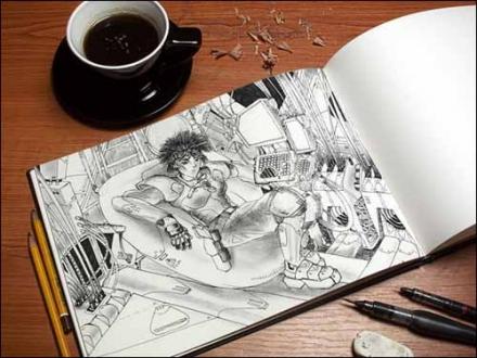 Art Book MockUp