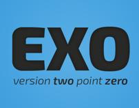 Exo 2.0 Free font family