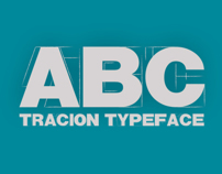 Tracion Free Typeface