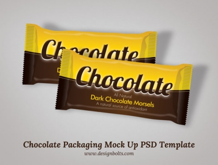 Chocolate Packaging Mock Up