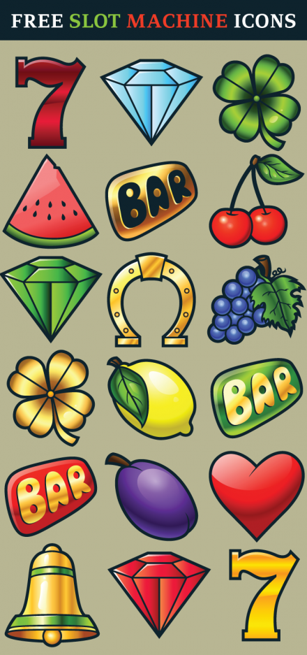 Free Slot Machine Icons