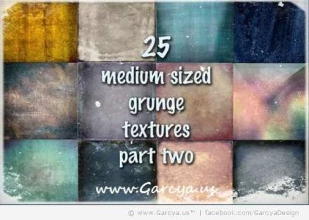 25 Free Grunge Textures