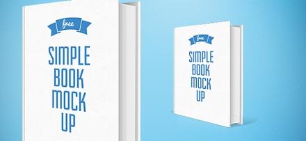 Simple Book Mockup