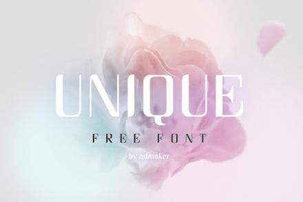 Unique Font