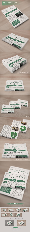 Newspaper-Mockups