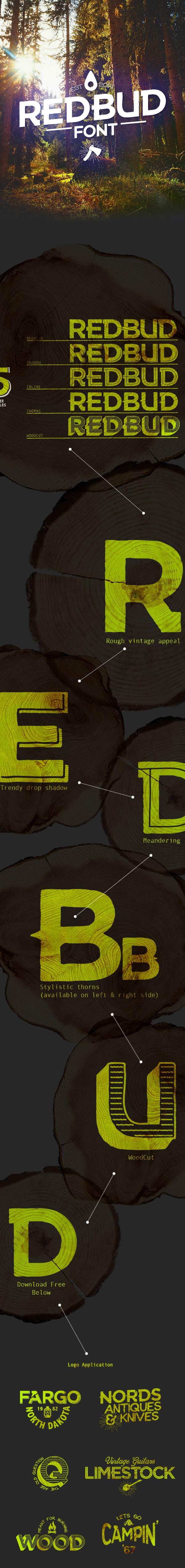 RedBud-font-free