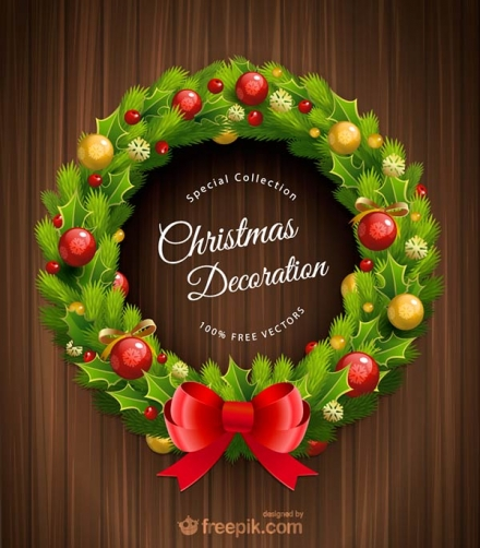 Adornos de Navidad en vectores