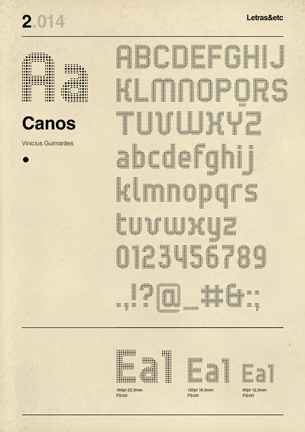 canos free font