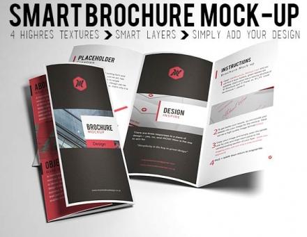 Smart Brochure Mockup