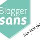Blogger Sans Free Font Family