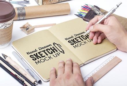 Mockup para ilustraciones