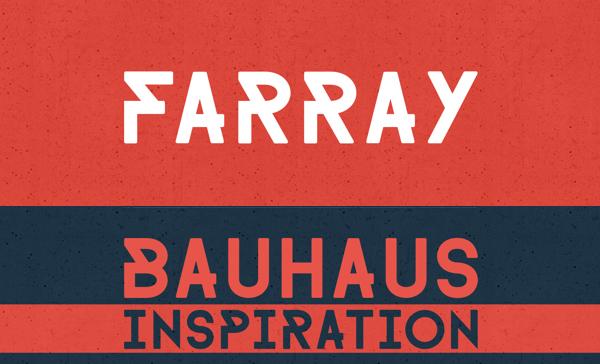 farray font download