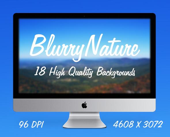 blurry nature