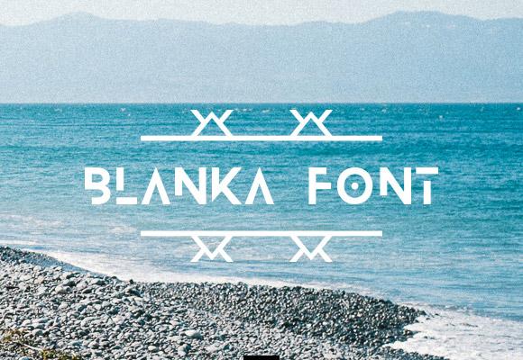 blanka free font