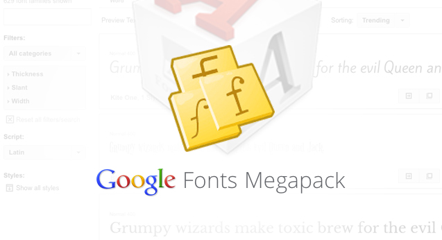 pack-google-fonts